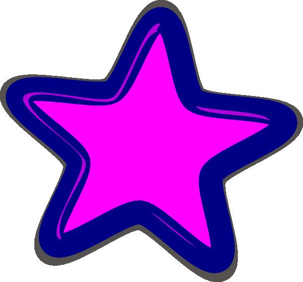Star clipart pink banner freeuse Pink Star Clip Art at Clker.com - vector clip art online, royalty ... banner freeuse