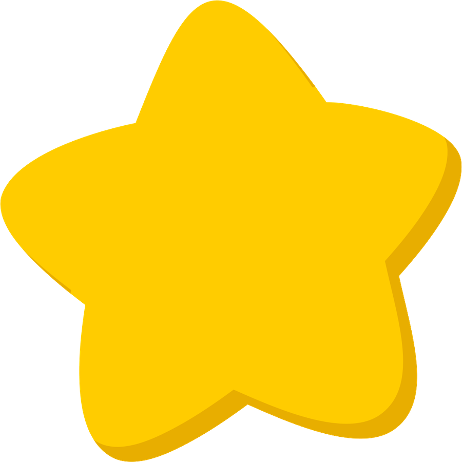 Cute star clipart png. Gold image purepng free