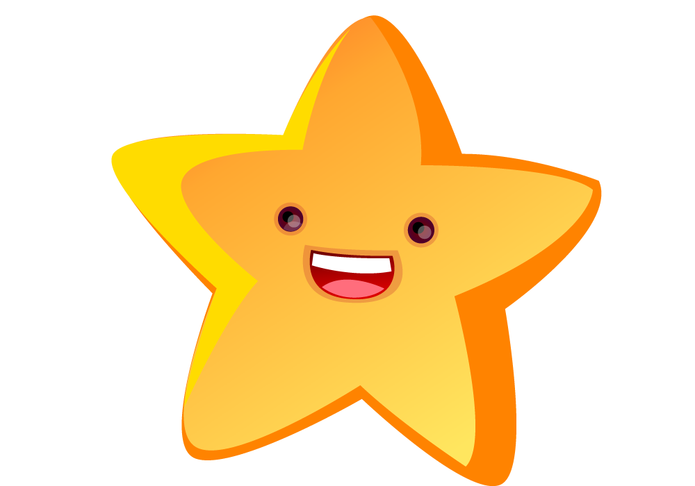 Twinkle little star clipart