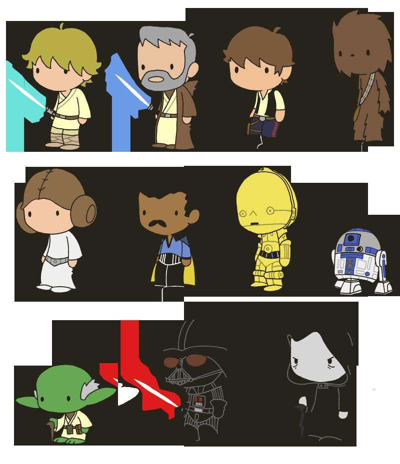 Cute star wars clipart clip art free Lil' Star Wars by toadcroaker on DeviantArt clip art free