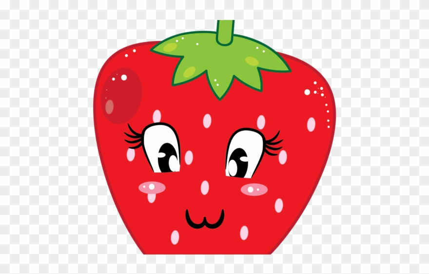 Library of cute strawberry jpg png files Clipart Art 2019