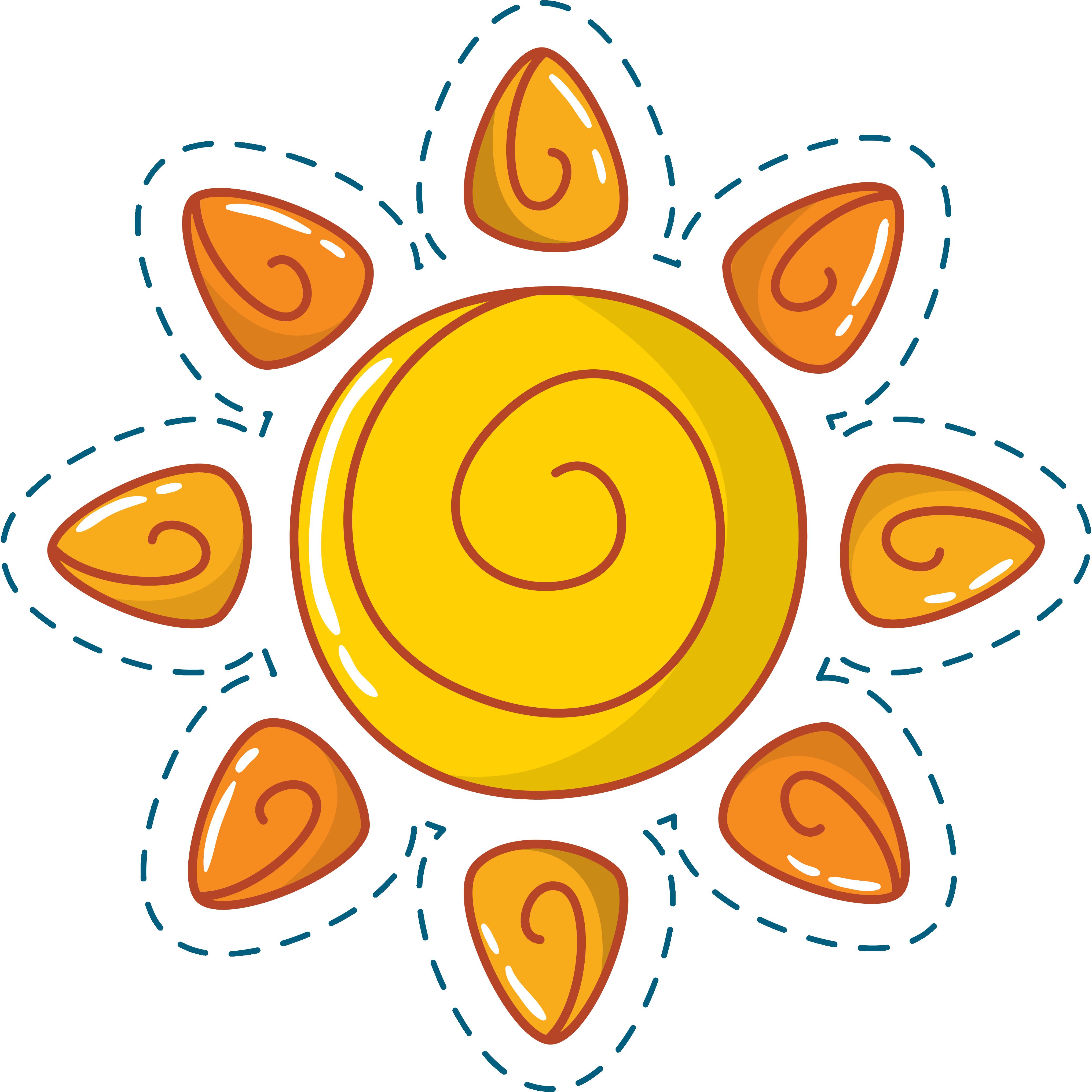 Free sun download artwork clipart jpg library download Cartoon Clip art - Cute cartoon sun 4070*4071 transprent Png Free ... jpg library download