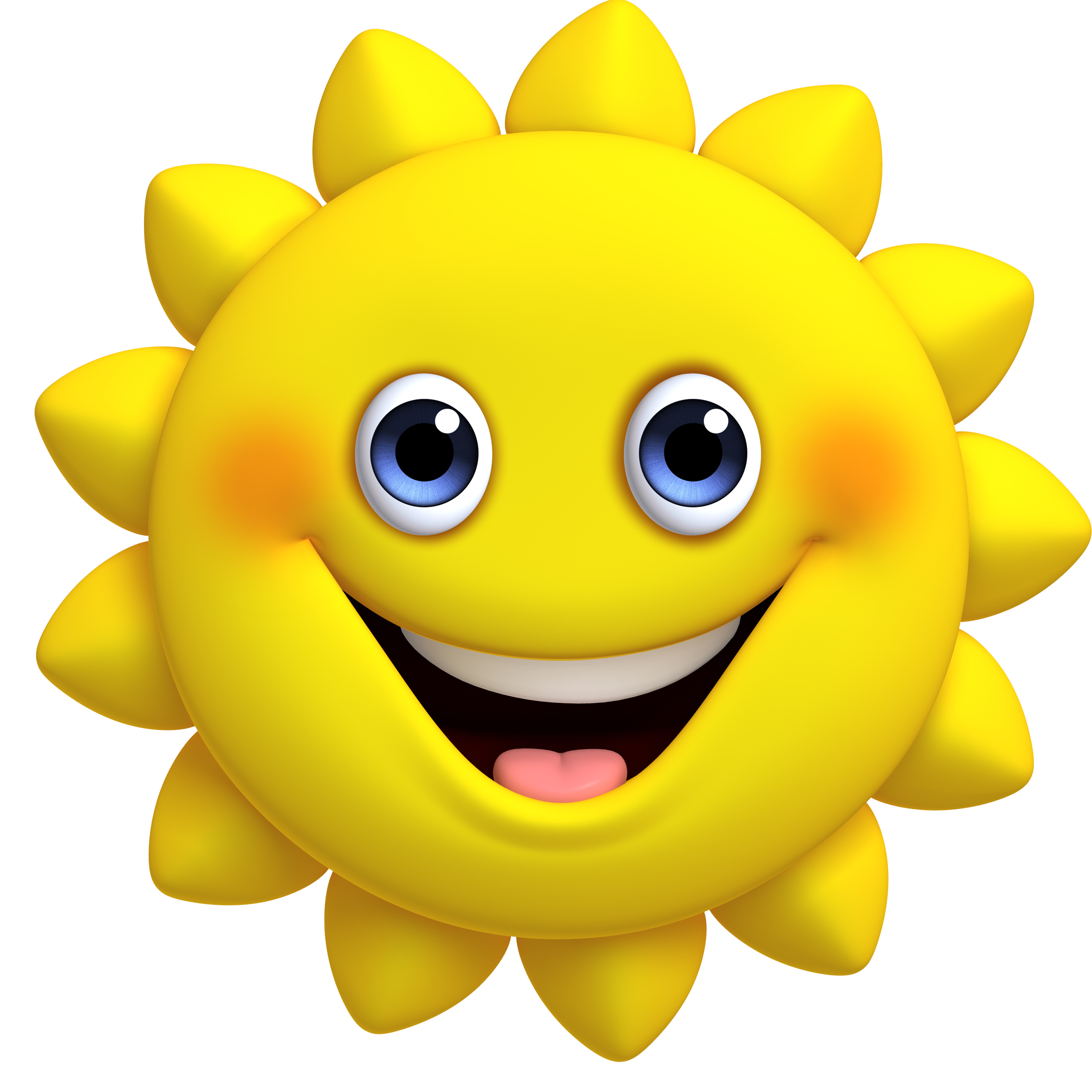 Cute sun smiling clipart clip freeuse Cartoon cute sun 2500*2500 transprent Png Free Download - Emoticon ... clip freeuse