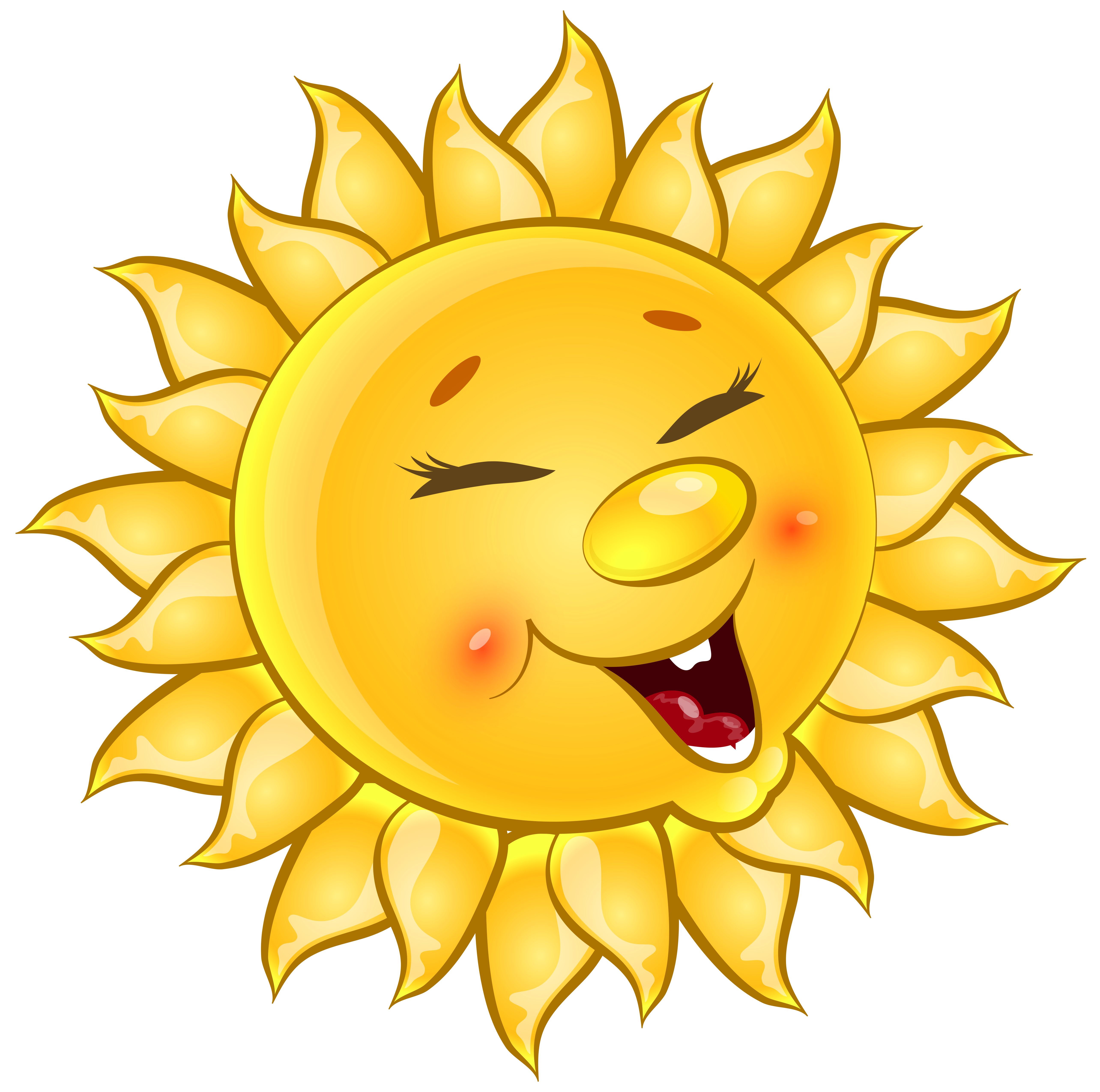 Sun cute clipart png library download Transparent Cute Sun Cartoon PNG Clipart Picture | Gallery ... png library download