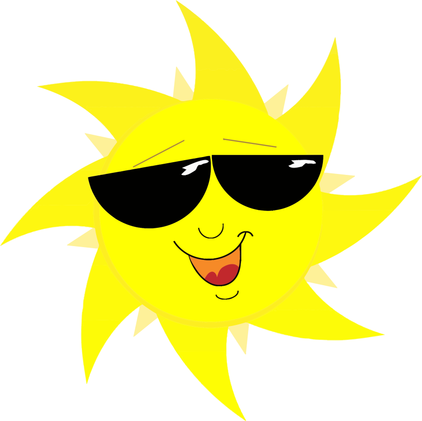 Cute sun with shades cartoon clipart clipart transparent stock 28+ Collection of Sun With Sunglasses Clipart Transparent | High ... clipart transparent stock