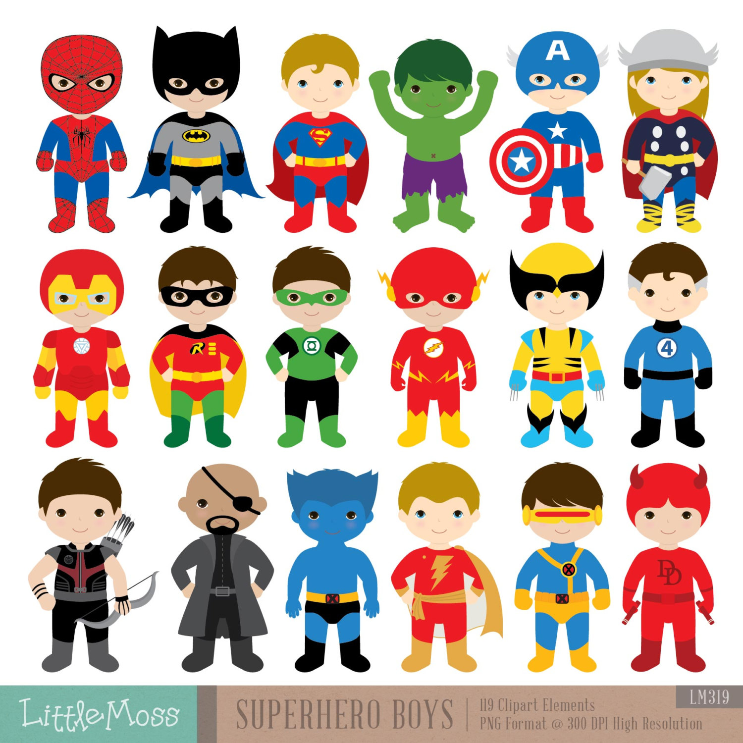 Cute superman characters clipart svg black and white download Superhero Kids Clipart & Superhero Kids Clip Art Images ... svg black and white download