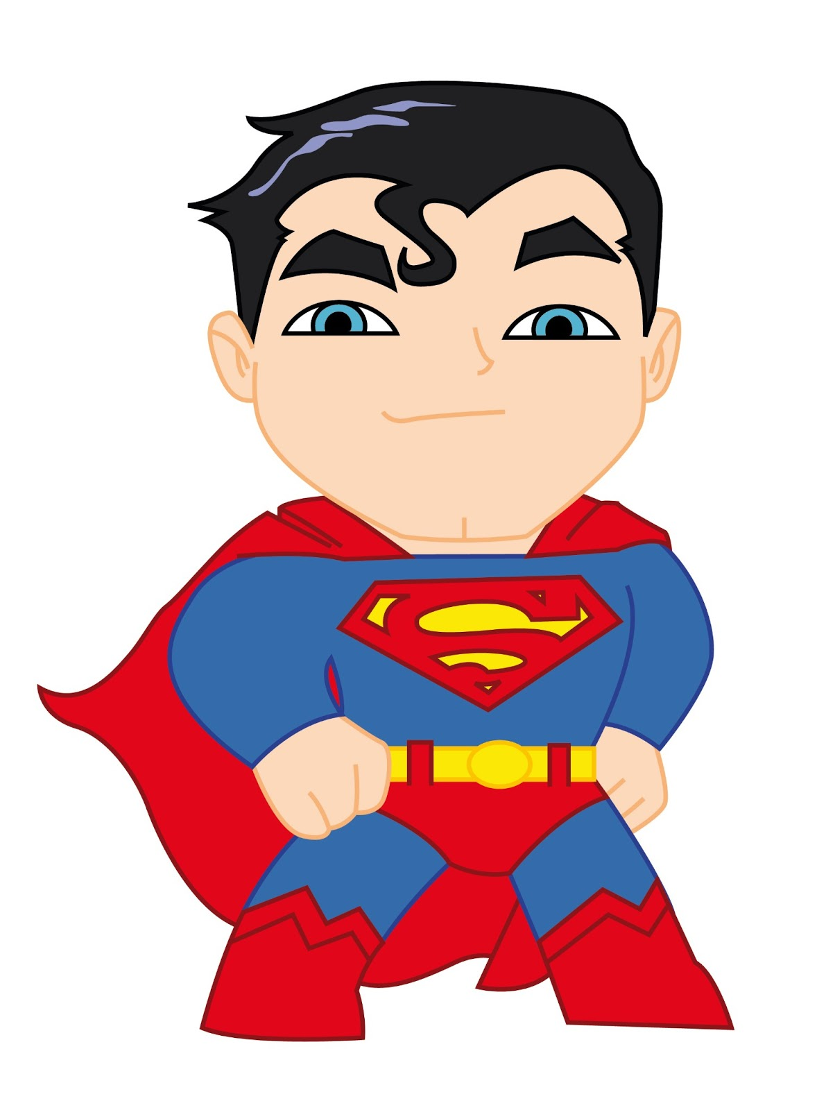 Clipartfest background . Cute superman characters clipart