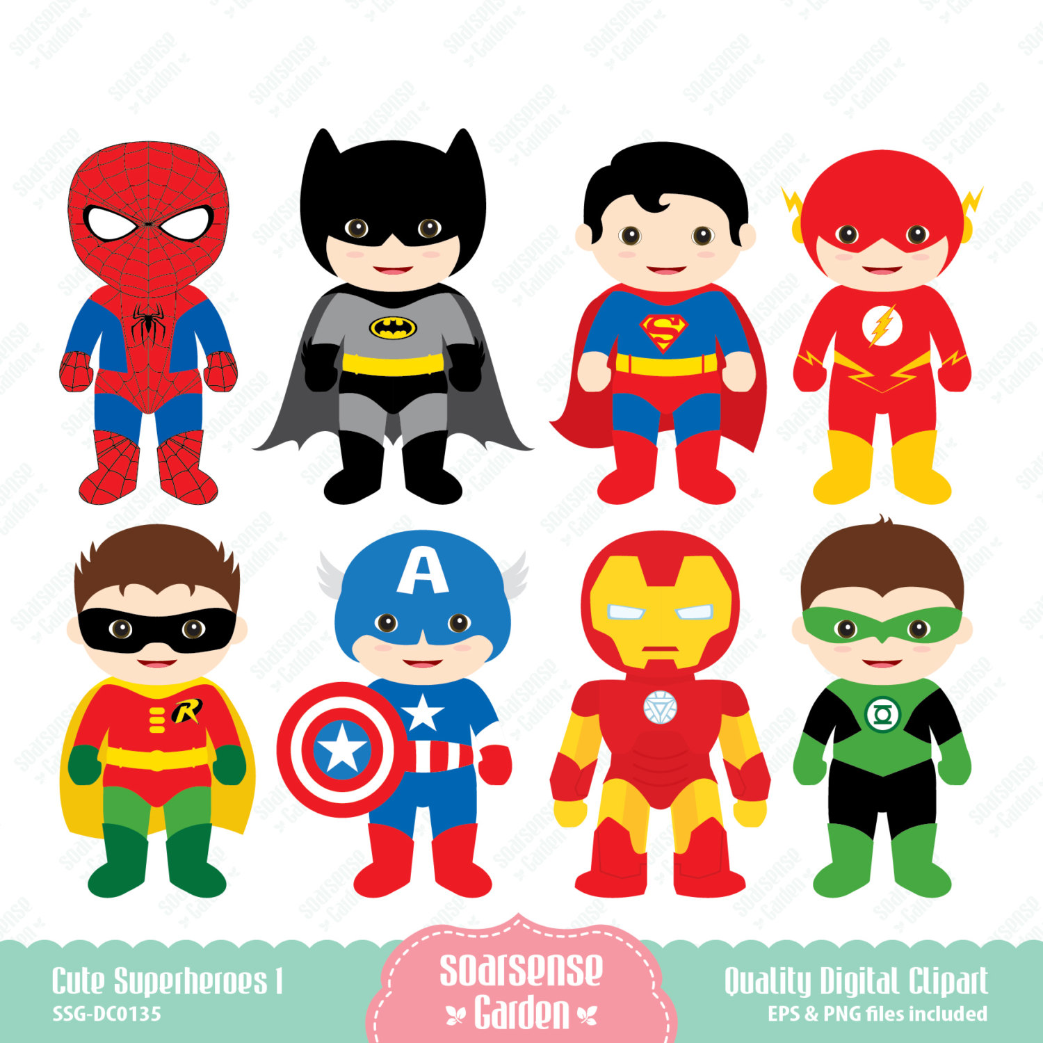 Clipartfest for from . Cute superman characters clipart