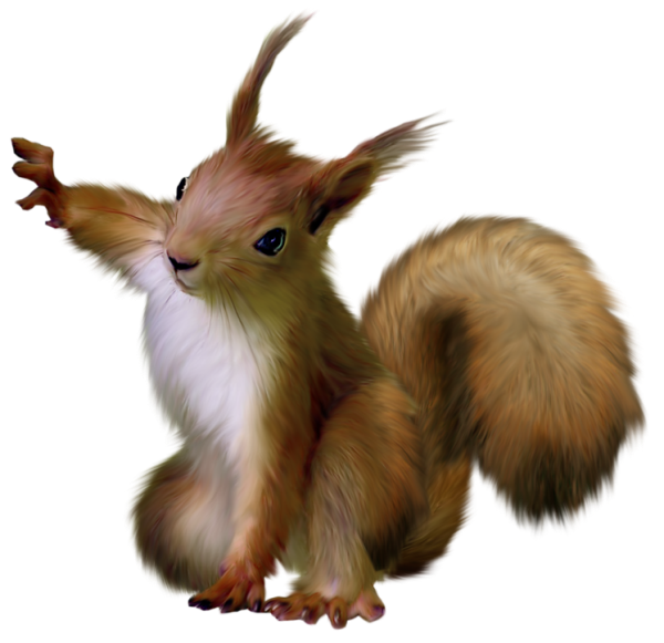 Cute thanksgiving squirrel nut clipart image transparent library Painted Squirrel Clipart | Digi-Scraps Freebies 2 | Pinterest ... image transparent library