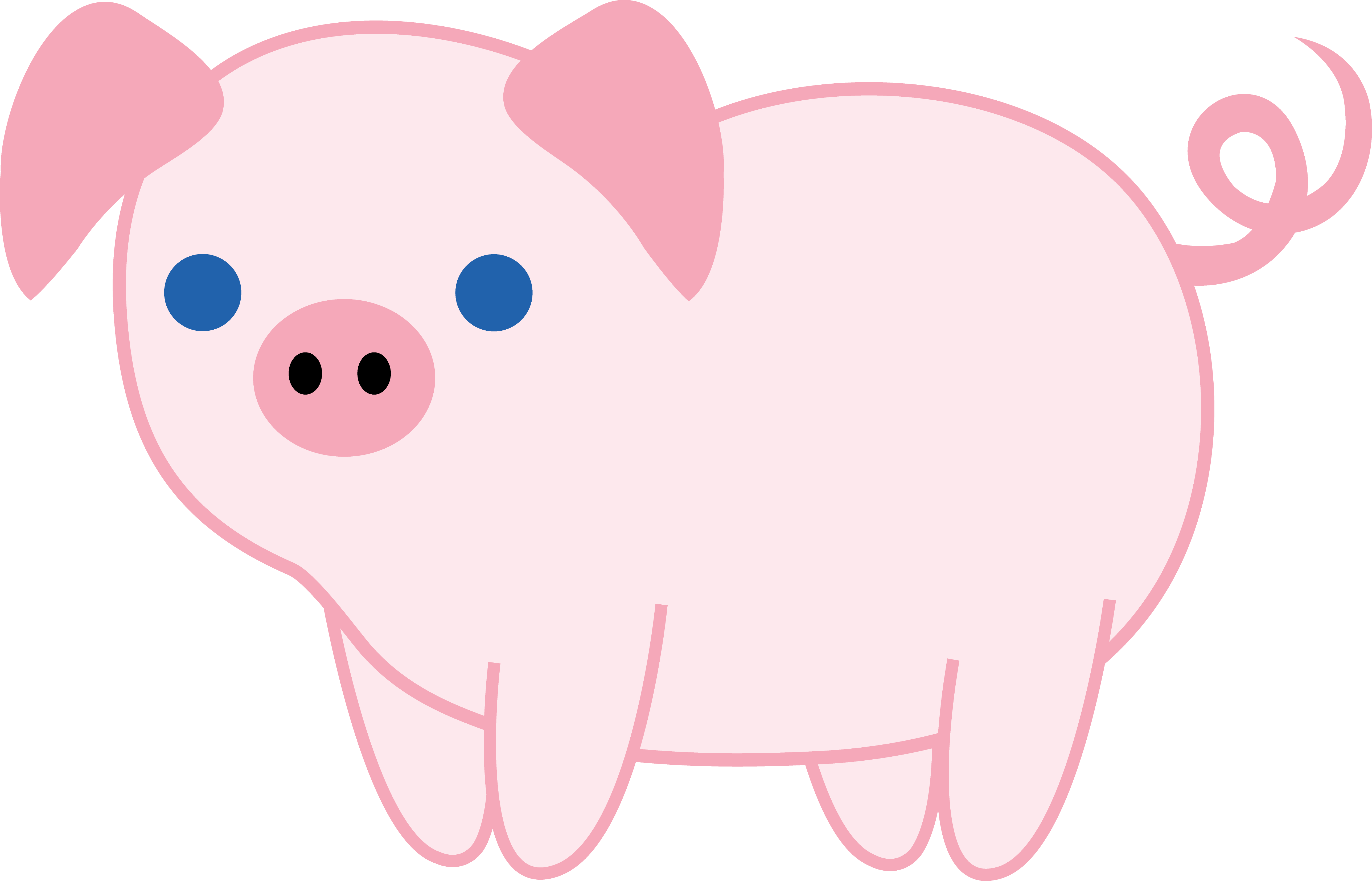 Cute things that are pink clipart png transparent stock Cute Pink Piglet - Cute Things That Are Pink Clipart - Full Size ... png transparent stock