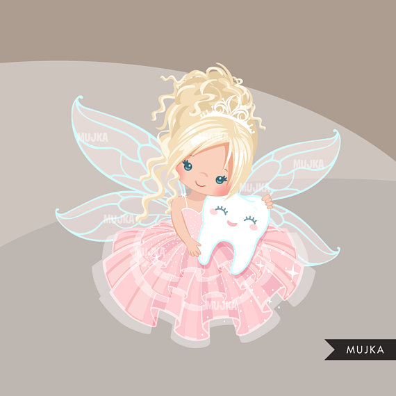 Cute tooth fairy clipart banner transparent Tooth Fairy clipart. Cute fairy character graphics, angel ... banner transparent