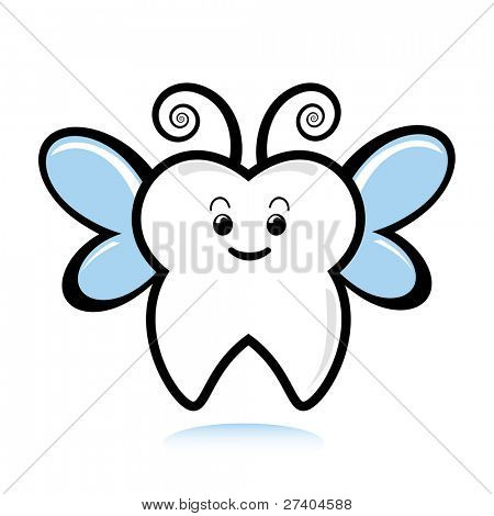 Cute tooth with hearts clipart clip art library download Tooth Fairy Vectors, Stock Photos & Illustrations | Bigstock clip art library download