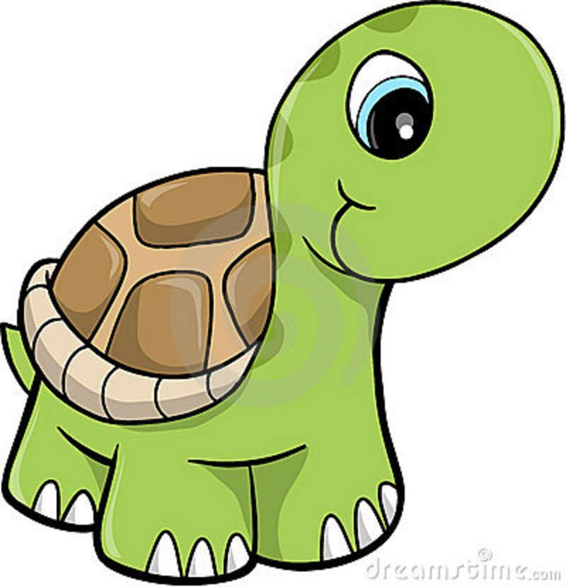 Cute tortoise clipart png freeuse library Free Cute Clip Art | Cute Safari Turtle Vector Illustration ... png freeuse library