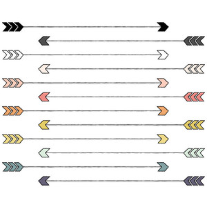 Cute trible arrow clipart vector library library Distressed tribal arrow clipart - ClipartFest vector library library