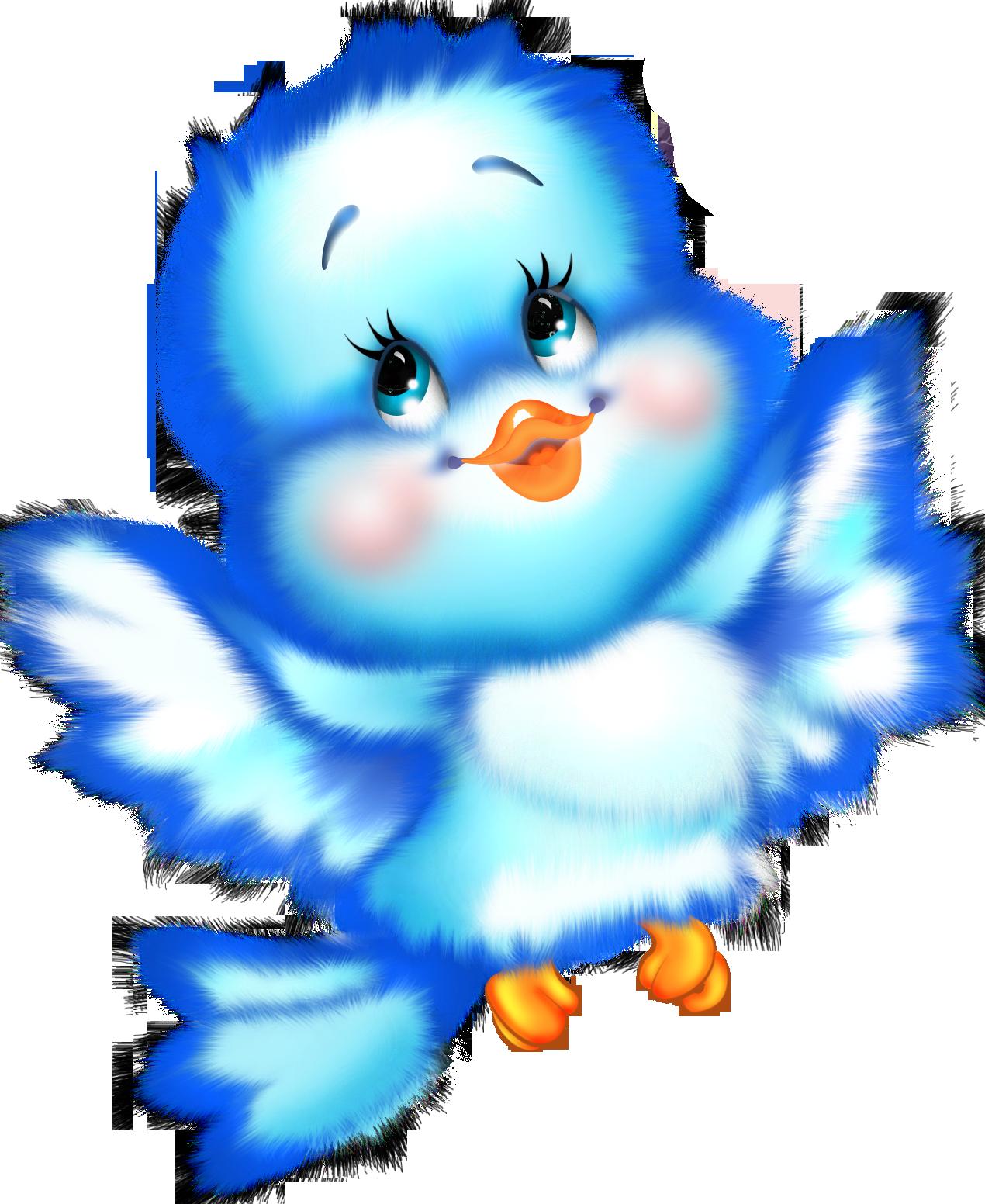 Cute turkey and animal friends clipart clipart free library Cute Blue Bird Cartoon Free Clipart | ღ❣Kid's~Stuff❣ღ ... clipart free library