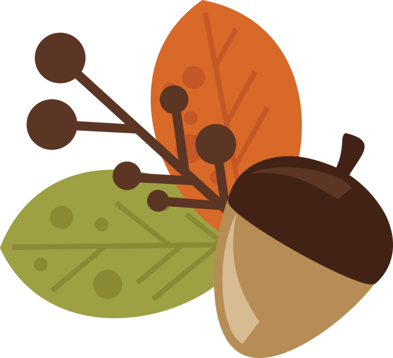 Cute turkey clipart svg svg library library Acorn and Leaves free svg files free svg files for scrapbooking ... svg library library