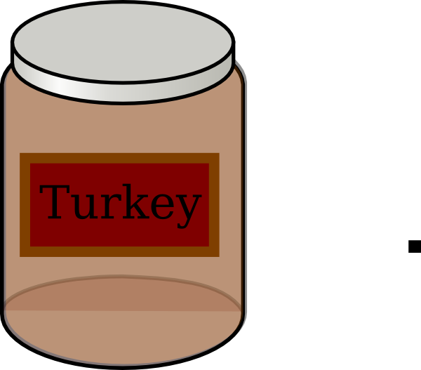 Turkey Baby Food Clip Art at Clker.com - vector clip art online ... picture royalty free stock