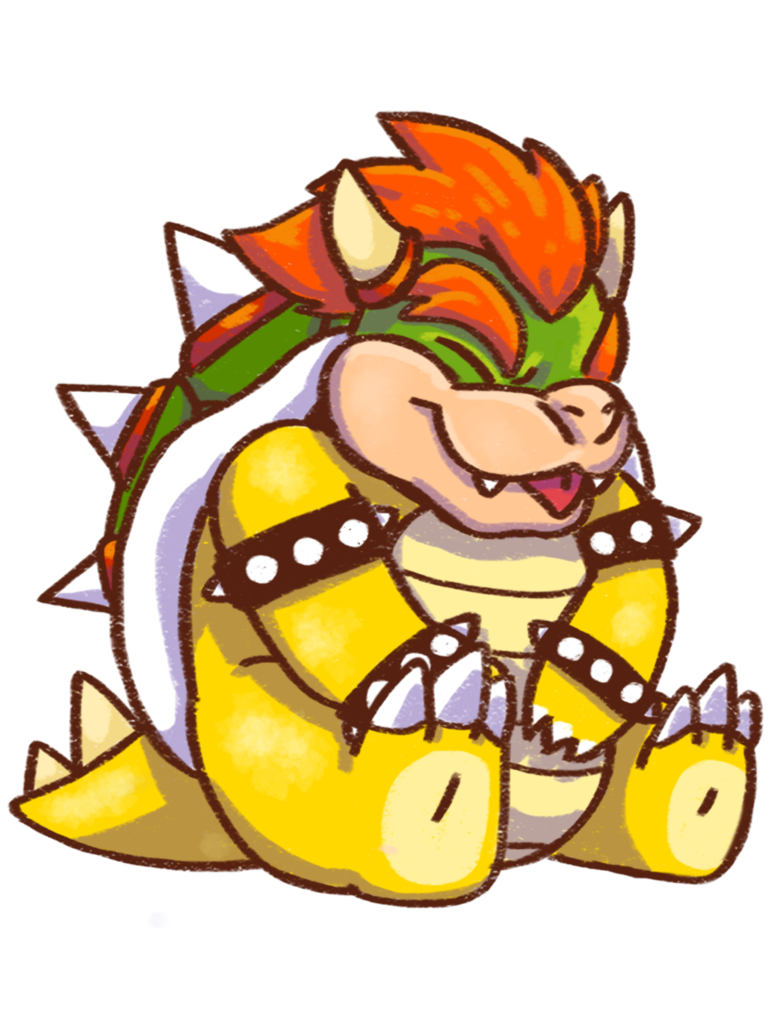 Cute turkey with inner tube clipart image transparent Cute lil Bowser by Marceline-Fox.deviantart.com on @DeviantArt ... image transparent
