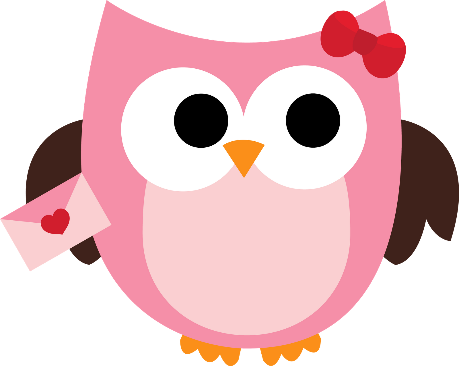 Cute valentine clip art image Free owl valentine clipart - ClipartFest image