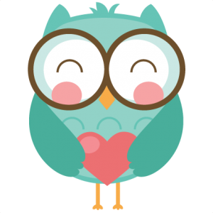 Free owl clipartfest images. Cute valentine clipart