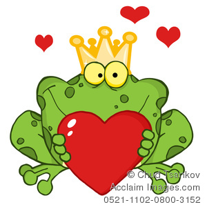 Cute valentine hearts clipart image royalty free download Clipart Illustration of A Cute Frog Holding Out a Red Valentine ... image royalty free download