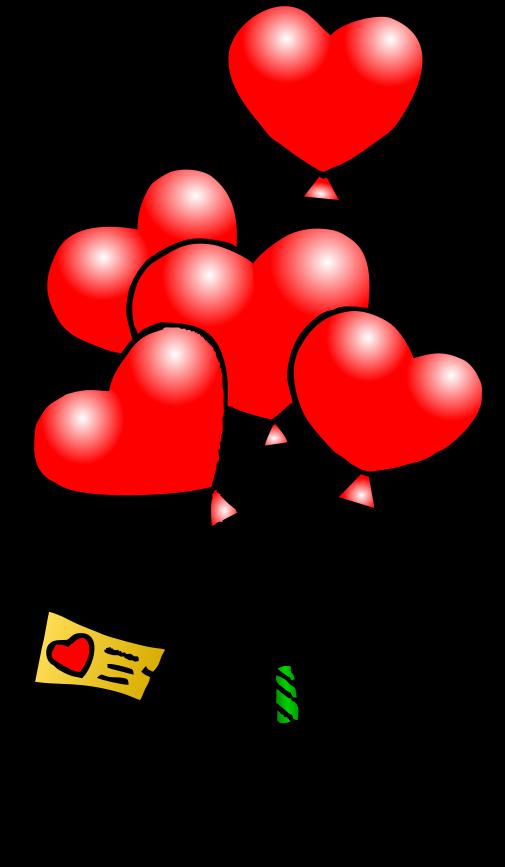 Cute valentine hearts clipart clip art black and white library Cute Valentine's Animated Clipart - Clipart Kid clip art black and white library