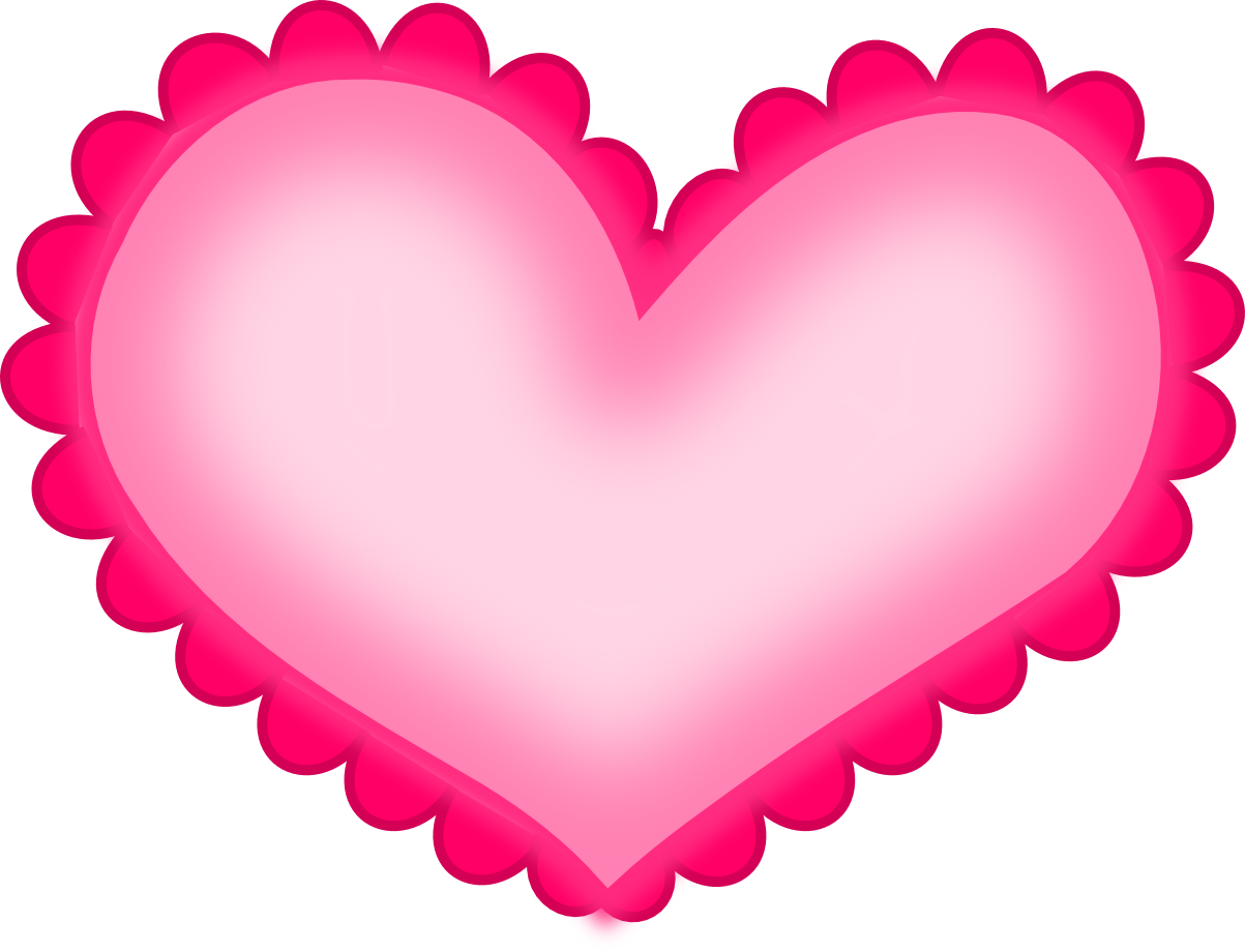 Valentine hearts clipart clip art library stock Hot Pink Heart Clipart - ClipArt Best | GINGERS HEART ♥ | Pinterest ... clip art library stock