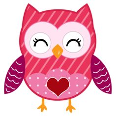 Cute valentine owl clipart vector library stock Valentine owl clip art - ClipartFest vector library stock