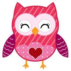 Cute valentine owl clipart. Clip art clipartfest bonito