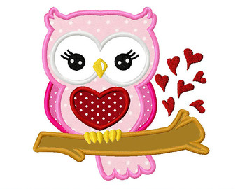 Cute valentine owl clipart. Valentines day clipartfest sweet