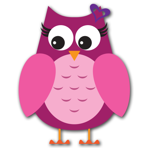 Cute valentine owl clipart. Kid cliparts birthday owls