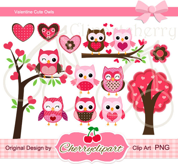 Cute valentine owl clipart svg royalty free library Valentine Owl Clipart - Clipart Kid svg royalty free library