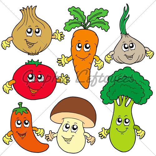 Cute vegetables clipart clip art transparent stock Vegetables Faces | Free download best Vegetables Faces on ClipArtMag.com clip art transparent stock