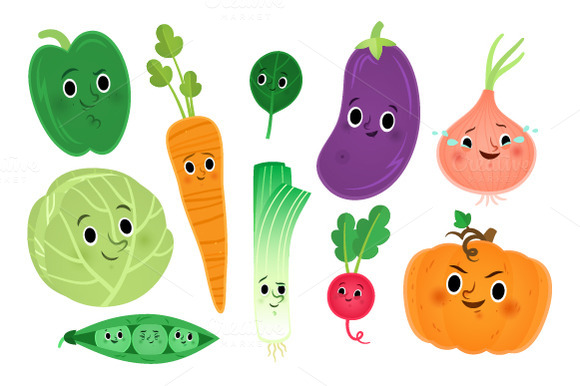 Cute vegetables clipart image freeuse Free Cute Vegetable Cliparts, Download Free Clip Art, Free Clip Art ... image freeuse