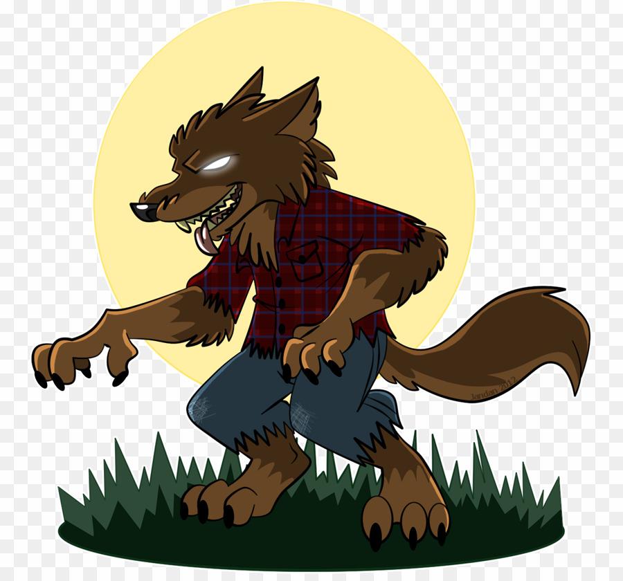 Cute werewolf clipart vector transparent Cartoon Werewolf PNG Werewolf Clipart download - 813 * 830 - Free ... vector transparent