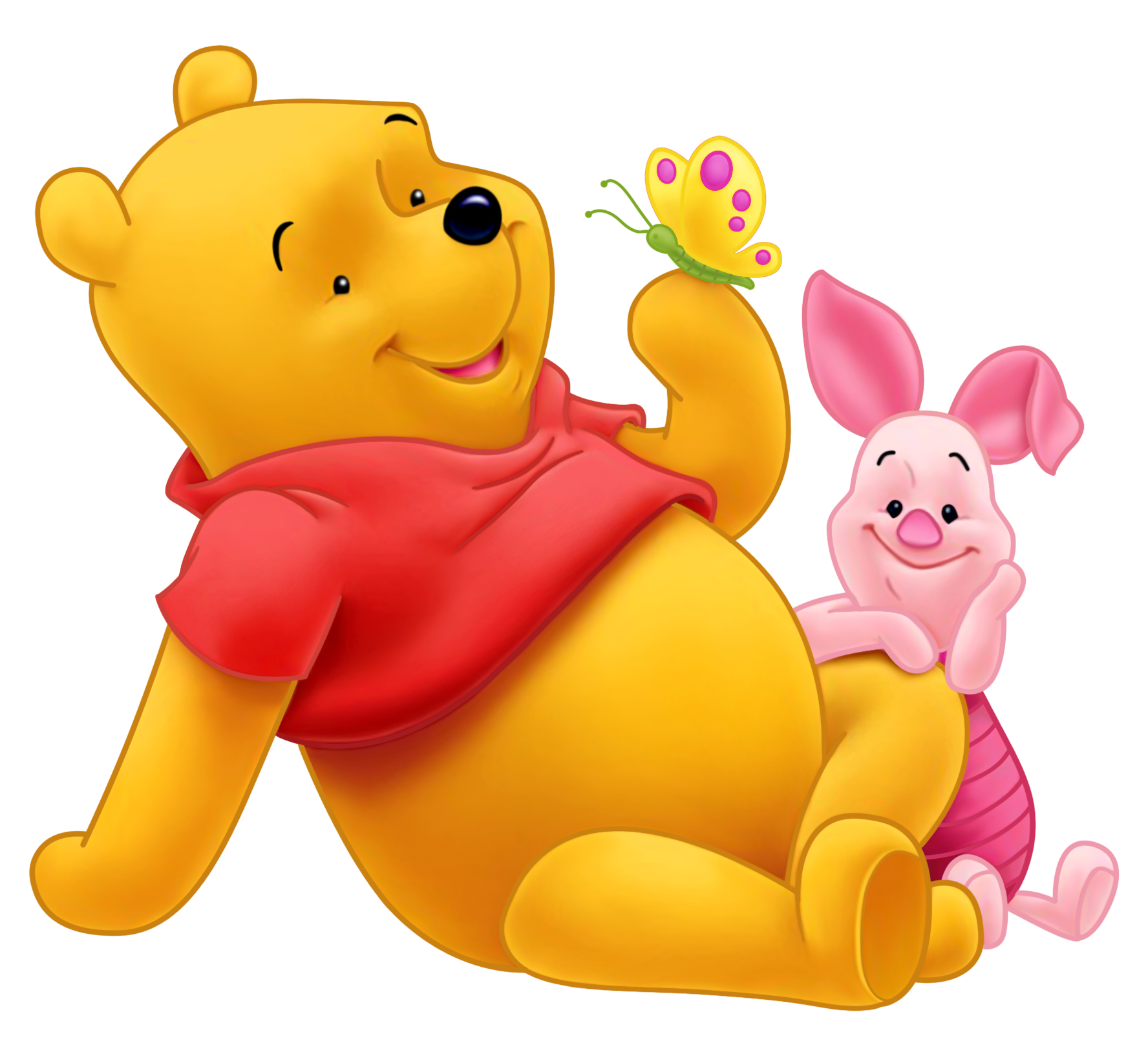 Cute winnie the pooh black and white thanksgiving clipart clip art transparent library Winnie the Pooh and Piglet PNG Picture | Gallery Yopriceville ... clip art transparent library