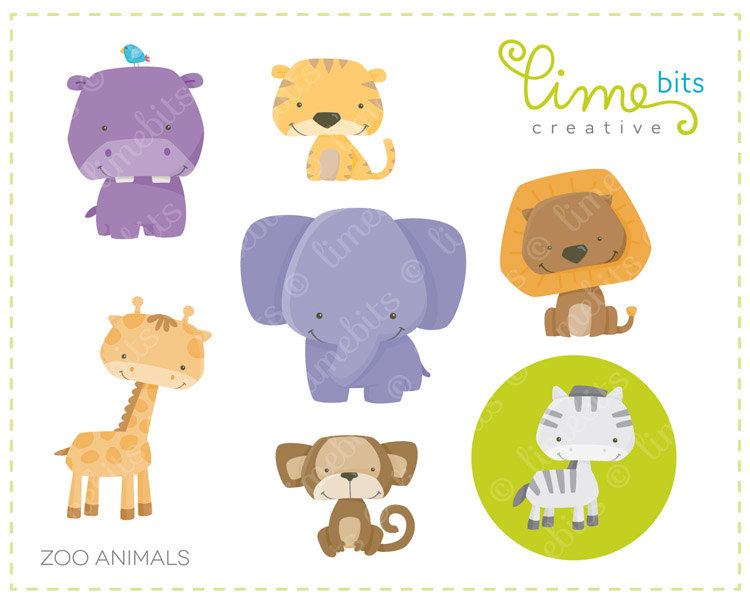 Cute zoo animals clipart clipart freeuse stock Free Zoo Animal Images, Download Free Clip Art, Free Clip ... clipart freeuse stock
