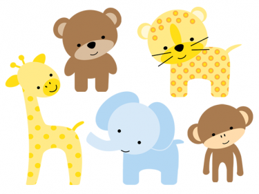 Cute zoo animals clipart banner freeuse stock Cute Cartoon Zoo Animals | zoo clip art 16 375×281 | Button ... banner freeuse stock