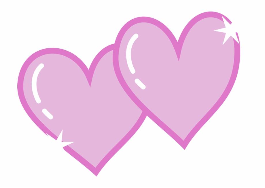 Cutie mark clipart vector transparent download Honeymoon Clipart Double Heart - Mlp Cutie Marks Love ... vector transparent download
