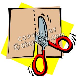 Photo cut clipart clipart royalty free library Clip Art: Scissors: Cutting | Clipart Panda - Free Clipart ... clipart royalty free library