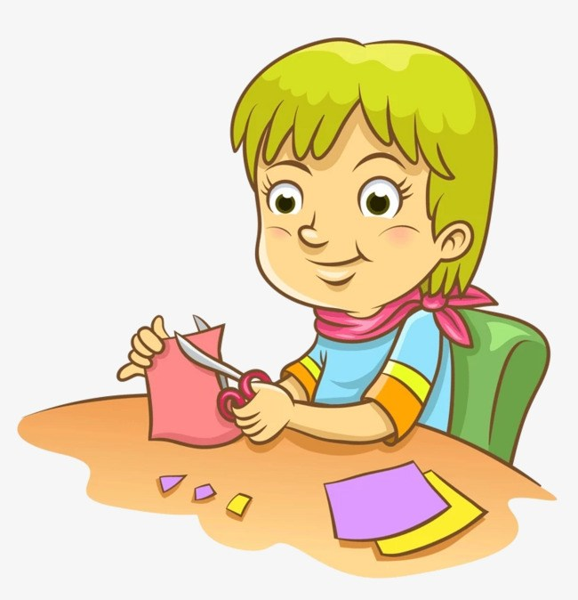 Cutting clipart vector freeuse library Children cutting clipart 8 » Clipart Portal vector freeuse library