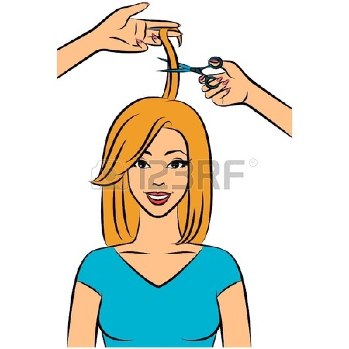 Cutting hair clipart image free library Hair Cut Clipart   Free download best Hair Cut Clipart on ... image free library