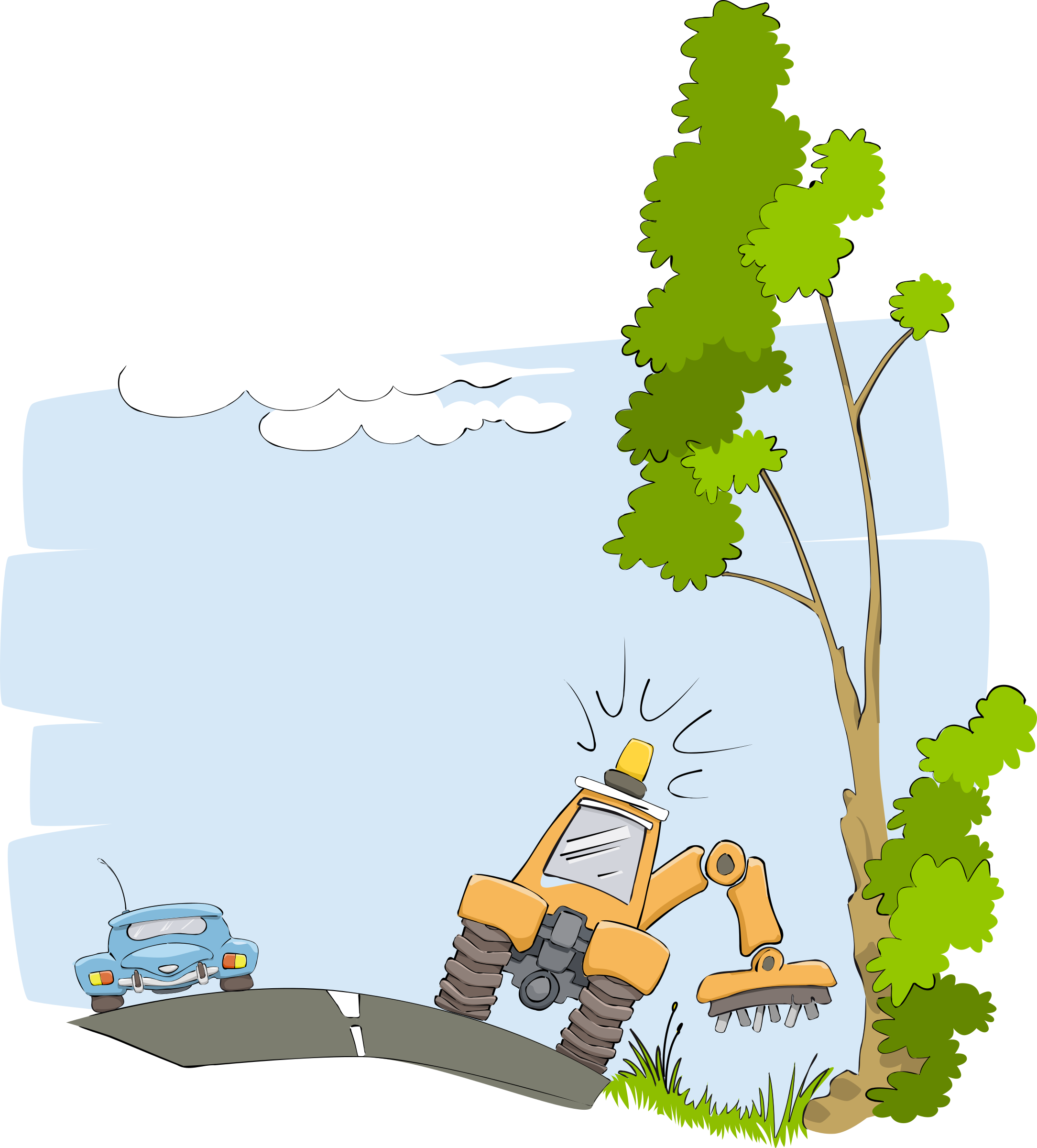 Tree cutting clipart image library Clipart - Coupe de vegetaux - cutting plants image library