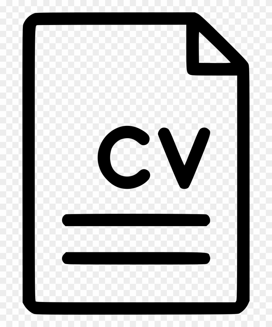 Cv icon clipart svg library download Cv Png - File Table Icon Png Clipart (#2137305) - PinClipart svg library download