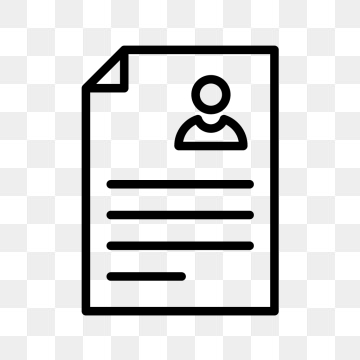 Library Of Resume Icons Freeuse Library Free Download Png