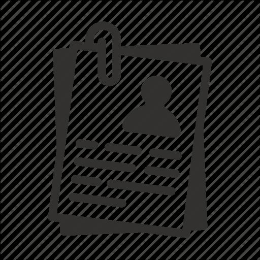 Cv icon clipart vector library library Communication Icon clipart - Text, Product, Font ... vector library library