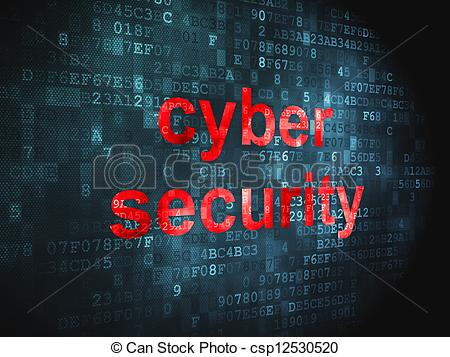 Cyber security clipart free. Clip art of concept