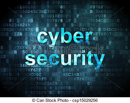 Cyber security clipart free. Drawings of protection concept