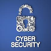 Cyber security clipart free. Stock illustrations royalty gograph