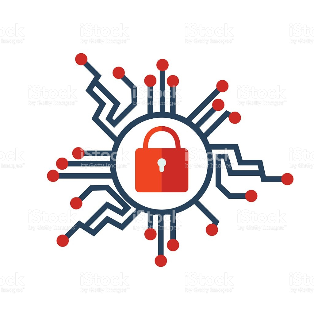 Cyber security clipart free vector transparent stock Cyber Security Icon stock vector art 626262918 | iStock vector transparent stock